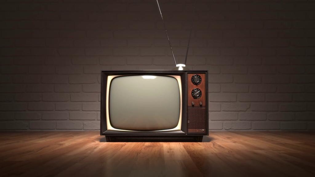 videoblocold vintage television set retro color tv oldschool